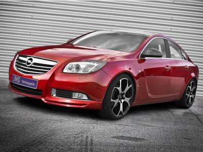 jms opel insignia tuning styling mit neuer frontlippe. Black Bedroom Furniture Sets. Home Design Ideas