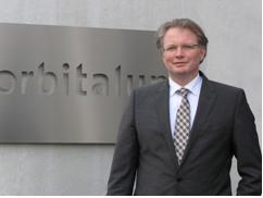 """Markus Tamm, CEO: """"Complete solutions for the highest demands in the preparation of weld seams through to the finished orbital welding seam – everything from a single source. Orbitalum Tools GmbH is the competent partner for orbital pipe machining and joining technology in the industrial construction of pipes and apparatus."""" Photo: Orbitalum Tools"""