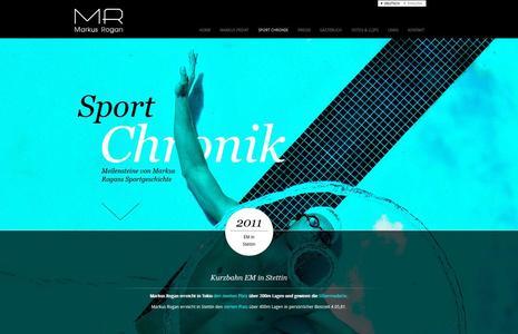 Neue Website für Markus Rogan