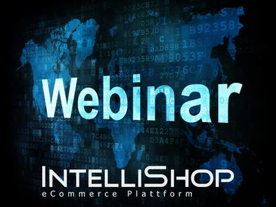IntelliShop eCommerce Plattform - Webinar-Angebot