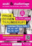 Plakat-Motiv azubi- & studientage Leipzig 2020