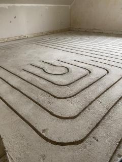Fußbodenheizung nachträglich einfräsen