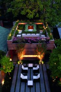 "Residence Carport in Toronto (Canada), ZinCo system build-up ""Roof Garden"", Photo: ZinCo"
