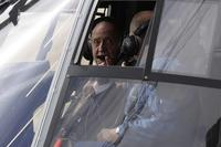 King Juan Carlos I Takes to the Air in the Spanish NH90 Helicopter