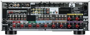 AVR-X4000 Rückansicht