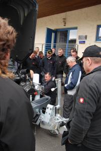 Fünf neue Estrichmaschinen bei Gruber Unternehmensgruppe