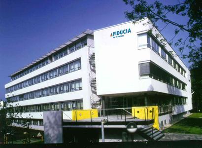 FIDUCIA Firmenzentrale in Karlsruhe - Hauptgebäude