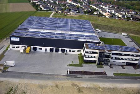 Adam Hall Photovoltaic plant