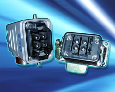 GES hybrid HV-connector system
