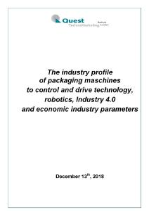 Industry profile for the automation of packaging machines