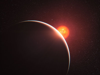 First Super-Earth Atmosphere Analysed