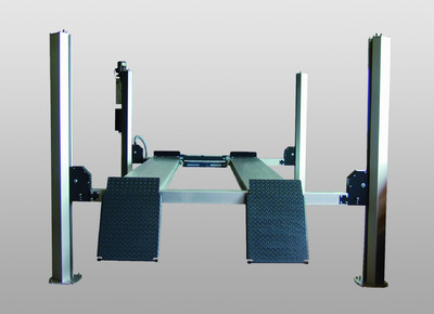 CARLIFT II 3.5 ALU: New Four Post Lift for Loads up to 3.5 t