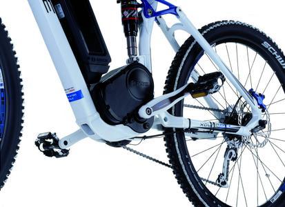 Das Sensor-Tretlager von Schaeffler ermöglicht eine sehr schnelle, genaue Erfassung der vom Fahrer aufgebrachten Pedalkraft. Dadurch wird die elektri-sche Unterstützung optimiert. Um diese Entwicklung zu schützen, hat  Schaeffler ein entsprechendes Schutzrechtsportfolio aufgebaut
