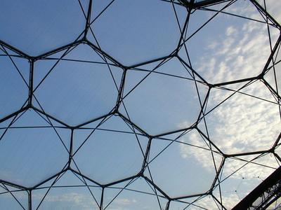 ETFE-Foliendach mit Reparaturstreifen