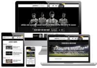 Screenshots Juve Online-Auftritt
