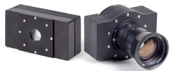Photograph of the LINCam25 and LINCam40 – two Photonscore photon counting camera models – now available from PicoQuant