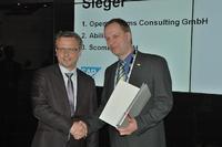Die OSC- Open Systems Consulting konnte sich klar durchsetzen und gewinnt das SAP EBM Partner Race 2011