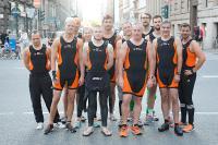 Das STILL Team vor der Olympischen Distanz beim Triathlon 2018 am heutigen Sonntag