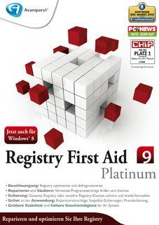 Tempo dank Ordnung in der Registrierdatenbank: Registry First Aid 9: