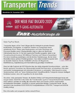 TransporterTrends Newsletter
