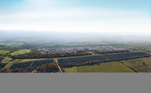 SVOLT-Standort Überherrn: Geplante 24 GWh-Zellfabrik für auf dem Linslerfeld