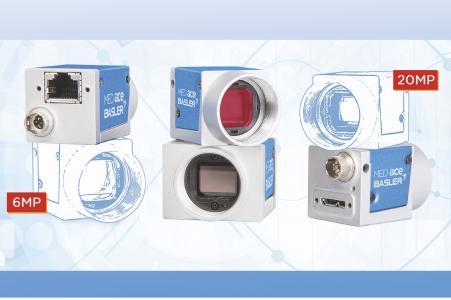 Basler MED ace Kameras mit 6 und 20 Megapixel - Norm ISO 13485:2016