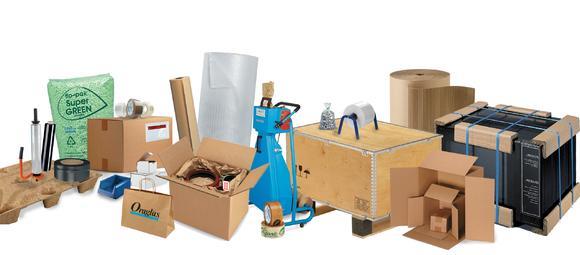Rajapack bietet eine große Produktauswahl im Standardsortiment
