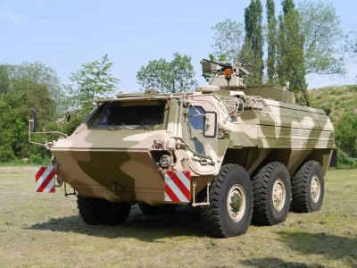 Bundeswehr beauftragt Rheinmetall mit der Modernisierung des ABC-Spürpanzers Fuchs - neuer hochgeschützter Rüststand A8A7