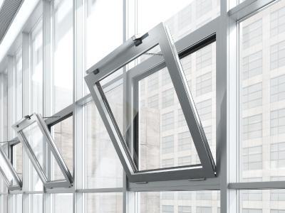 GEZE Slimchain Einbau Fenster Fass innen / Foto: GEZE GmbH