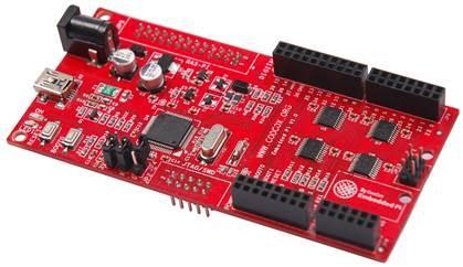 Neue Dreifach-Plattform verbindet Raspberry Pi, Arduino und 32-Bit Embedded ARM