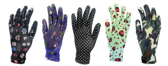 »Crazy Gloves« sind neue Arbeitshandschuhe in vielen fröhlich-bunten Designs