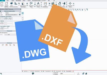 DWG & DXF mit der Freeware öffnen und bearbeiten