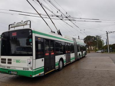 Oberleitungsbus BBG