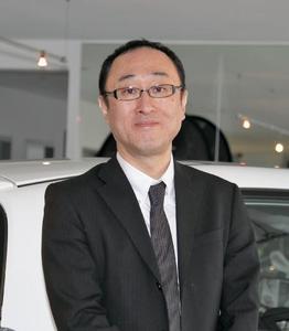 Der neue Präsident der Honda Deutschland GmbH, Yuishi Fukuda