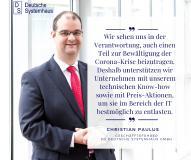 Die DS Deutsche Systemhaus GmbH unterstützt Unternehmen während der Corona-Krise.