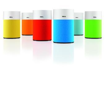 Für den Luftreiniger IDEAL AP30 PRO sind die textilen, abnehmbaren Filter-Überzüge in sieben tollen bunten Farben erhältlich.