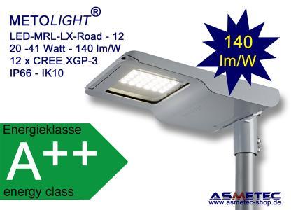 METOLIGHT LED Straßenleuchte MRL LX-Road