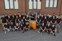 Das neue Team von STILL Auszubildenden in Hamburg