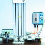 Dank der internen PLC und der Positioniersteuerung POSICON in den Frequenzumrichtern NORDAC LINK und NORDAC FLEX können sich im Master-Slave-Betrieb mehrere NORD-Antriebe synchronisieren