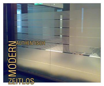 Sichtschutzfolie Glaswand