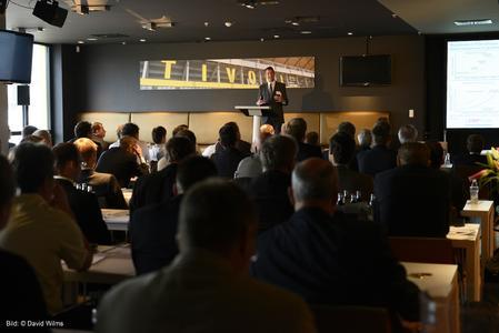 Prof. Schuhs Initialrede auf den 19. Aachener ERP-Tagen in den Räumlichkeiten von Tivoli Business & Events