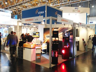 Messestand LUMIMAX zur SPS IPC Drives 2013