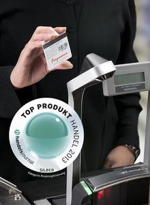 Gewinner: Weltneuheit Magellan 9800i. Der erste POS-Scanner, der komplett auf Imager-Technologie basiert