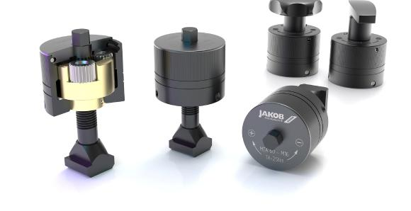 Proven power clamping nut