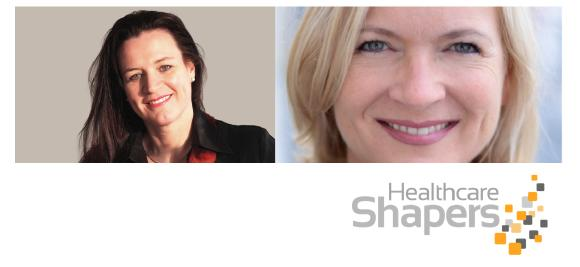 Wechsel im Managementbord der Healthcare Shapers: Dr. Ursula Kramer kommt, Brigitte Lippmann geht.