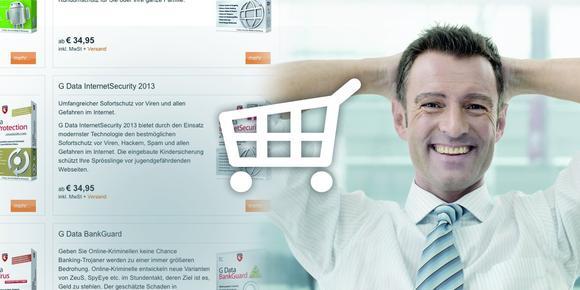 G Data PartnerShop im Partnerweb