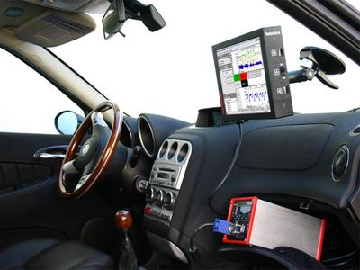 On tour: Sample vehicle data with the embedded PC (ePC) and visualize them on the automotive display (aDP800)