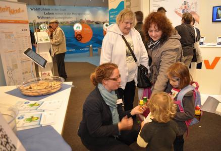 """Das Forum """"Vereinbarkeit von Beruf und Familie"""" beim Mannheimer Maimarkt 2013"""