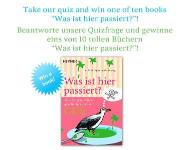 Facebook Quiz von deutschland.de