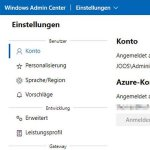 Hybride Netzwerke mit dem Windows Admin Center managen